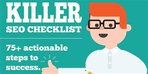 Seo Steps by Seo Checklist 75 Actionable Steps To Success