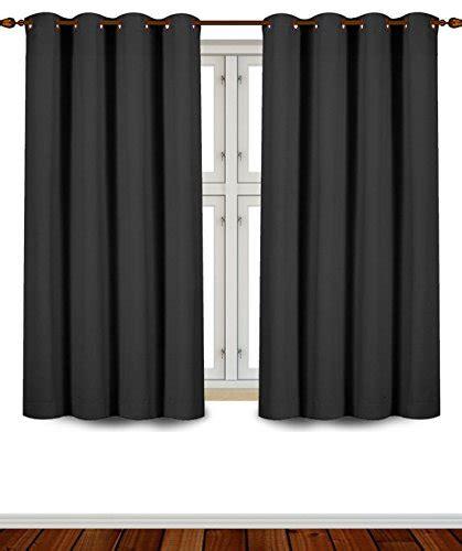 62 blackout room darkening curtains window panel