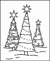 Tree Christmas Pages Coloring Printable Print Pdf Address sketch template