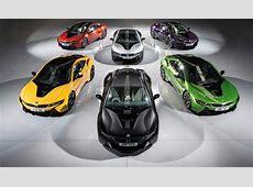 BMW i8 Gets New Colors