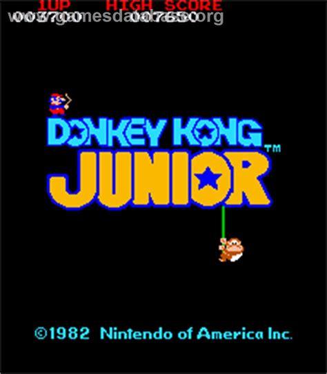 Donkey Kong Junior Arcade Games Database