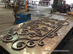 raleigh wrought iron and fence co welding and fabrication light structural wrought iron
