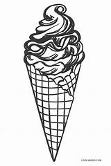 Ice Cream Coloring Pages Printable Cool2bkids Cone Drawing Icecream Sheets Animal sketch template