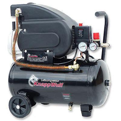 druckluft kompressor klein knappwulf luftkompressor druckluft kompressor 24l kessel