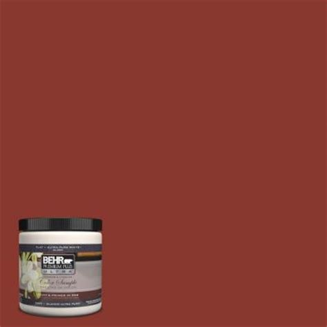 behr premium plus ultra 8 oz pph 72 rusty interior exterior paint sle pph 72 u the