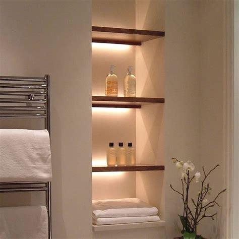 Wandnische Mit Beleuchtung by Lofty Design Bathroom Alcove Ideas Design Tile Storage