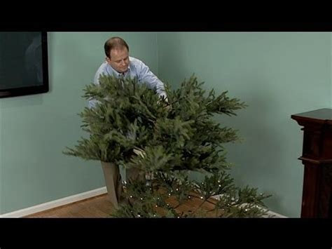 artificial christmas tree youtube