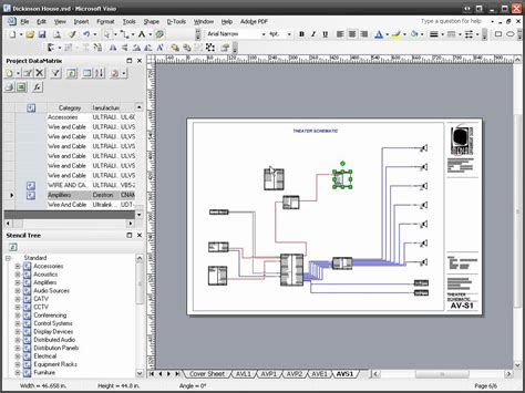 d tools si 5 visio schematic diagram youtube