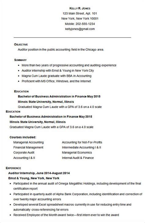 Accounting Resume Template by How Impressive Accounting Assistant Resume Is Made