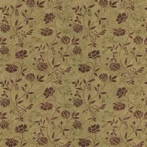 418-44664 Beige Country Jacobean - Tudor - Brewster Wallpaper