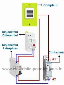 Raccordement Electrique Chauffe Eau : branchement du contacteur jour nuit du chauffe eau lectrique ~ Nature-et-papiers.com Idées de Décoration