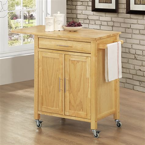 oak kitchen island cart furniture adorable kitchen carts on wheels design ideas 3577