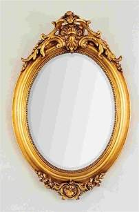 Circle Mirror Wall Decor by Best 25 Oval Frame Ideas On Pinterest Victorian Mirror
