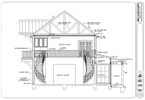 houseplans and more bert lamson design construction details