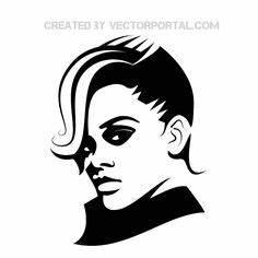 Lady Gaga Silhouette | lady-gaga-vector | SILHOUETTES ...