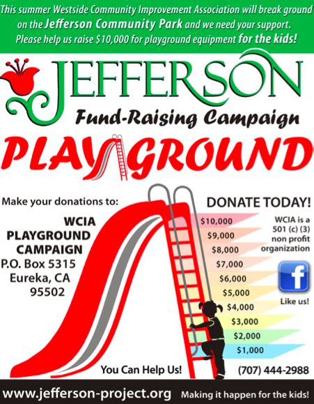 non profit preschool grants playground fundraising flyer playground 604