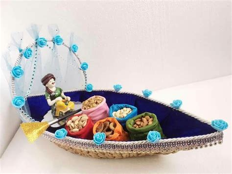 dryfruits trousseau packing wedding decorations
