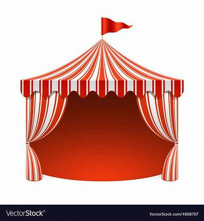 Circus Tent Vector Background Clipart Poster Border