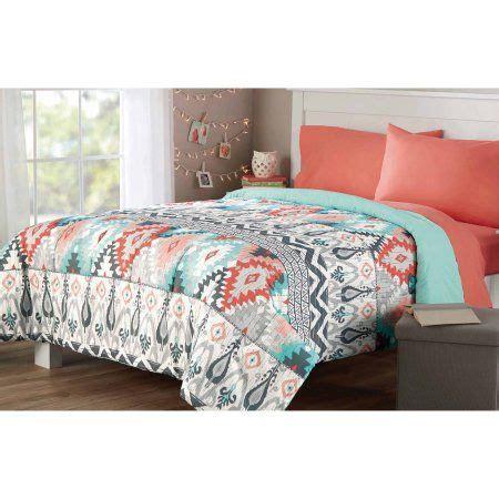 Comforters Bedding Walmart by Mainstays Microfiber Bedding Comforter Walmart