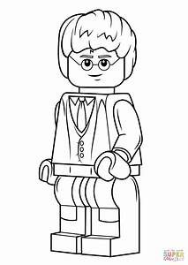 Lego Harry Potter Coloring Page Free Printable Coloring