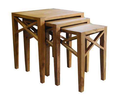 nest table indonesia garden teak outdoor furniture
