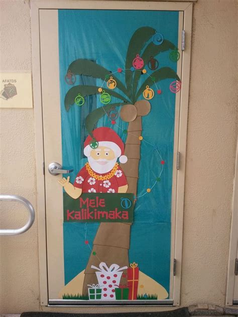 christmas door decorating contest ideas  pinterest