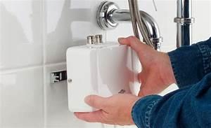 Waschbecken Selbst Montieren : druckloser durchlauferhitzer f r niederdruck armatur waschbecken wc bild 15 ~ Markanthonyermac.com Haus und Dekorationen