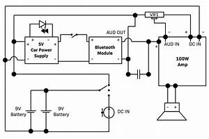 100w Diy Bluetooth Speaker