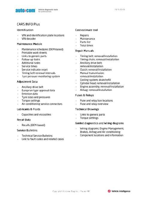 Autocom CDP+ INFO & INFO Plus