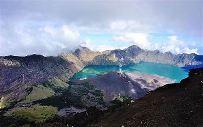 Volcano Indonesia Indonesian Trapped Tourists Travel Than