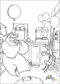 boog  elliot   kitchen coloring page