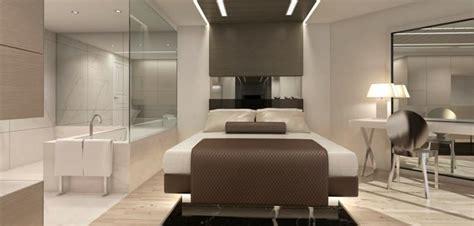 chambre avec dressing et salle d eau salle de bain dans une chambre à coucher déco salle