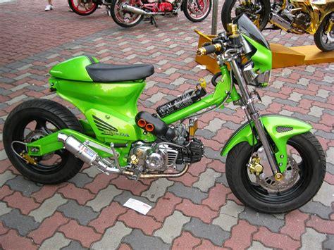 Modipikasi Motor by Kumpulan Foto Hasil Modifikasi Motor Honda 70 Modif