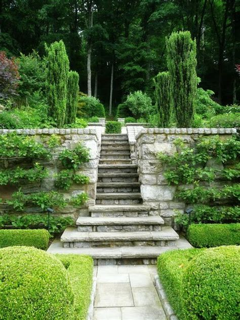 garden stairs ideas  pinterest garden steps