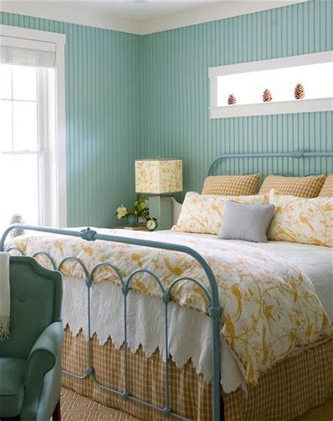 Shabby Chic Metal Headboard by Painted Wood Panels 9 Ways To Dress Up Your Walls