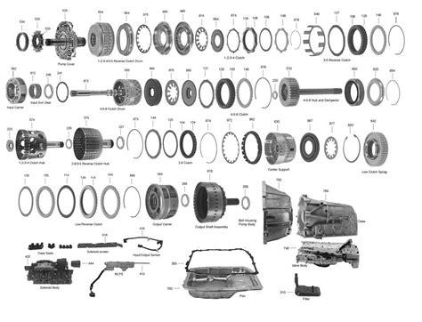 4l80e Valve Diagram by 6l80 Transmission Parts Diagram Trans Parts