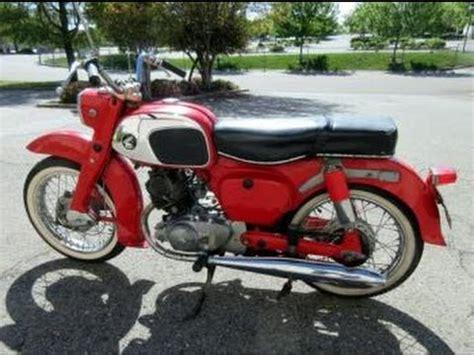 1964 Honda Ca95 Benly Touring Motorcycle On Govliquidation