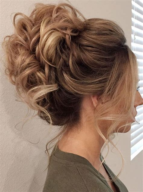 messy updo hairstyle  inspire    big day