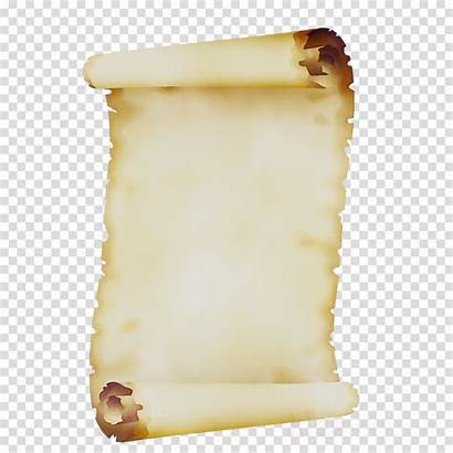 Paper Background Scroll Historical History Clipart Transparent