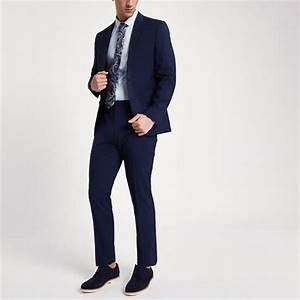 Costume Bleu Marine Homme : veste de costume bleu marine coupe slim marine homme ~ Melissatoandfro.com Idées de Décoration