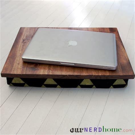 diy lap desk with hand sted legend of zelda fabric diy
