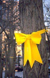 tie  yellow ribbon  iran hostage crisis