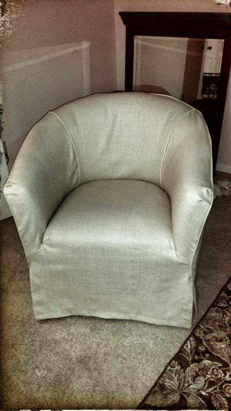 slipcovers for barrel chairs barrel chair with no cushion and has a waterfall skirt