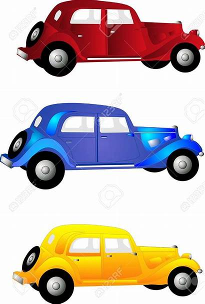 Clipart Cars Automobile Clip Yellow Three Clipartmag