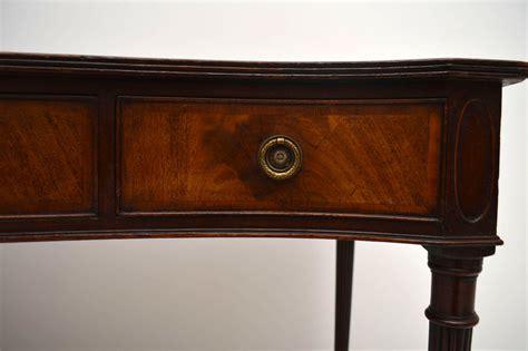 mahogany sofa table antique antique mahogany serpentine console table marylebone