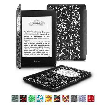 fintie slimshell for kindle paperwhite fits all 2012 2013 2015 and 2016 versions