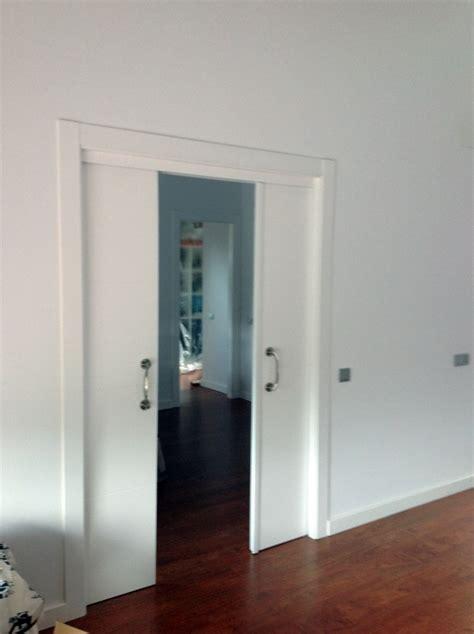 foto puertas correderas en tabique de jumipuertas