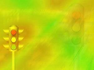 Quiz Show Powerpoint Template Traffic Signals 02 Powerpoint Template