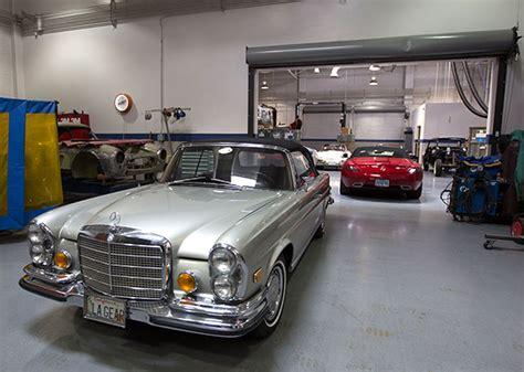 Restoration of a 1955 300sl at the mercedes benz classic center. Mercedes-Benz Classic Center Workshop (NOTCOT)