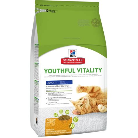 hillsscience diet youthful vitality adult  chicken